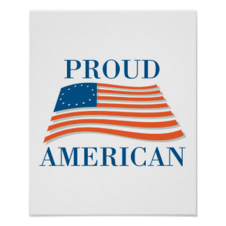 Proud American Posters