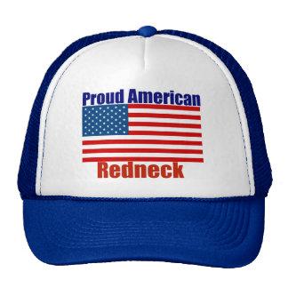 Proud American Redneck Trucker Hat