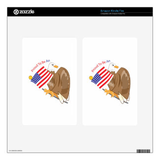 Proud American Decals For Kindle Fire