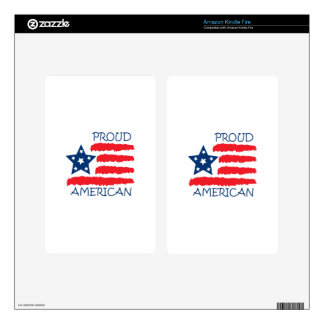 PROUD AMERICAN SKINS FOR KINDLE FIRE