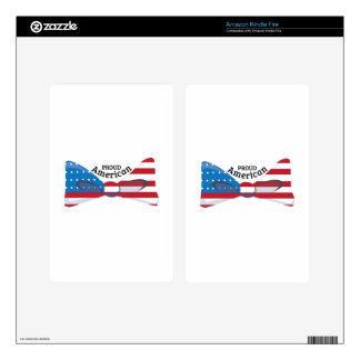 Proud American Decal For Kindle Fire