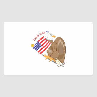 Proud American Sticker