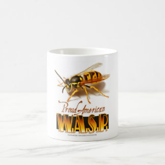Proud American Wasp Classic White Coffee Mug
