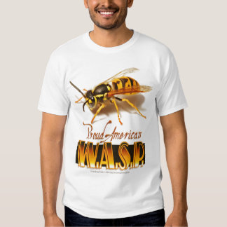 Proud American Wasp T Shirt