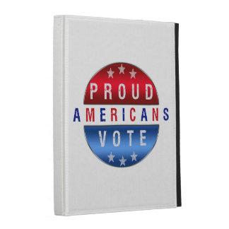 PROUD AMERICANS VOTE iPad Folio Case