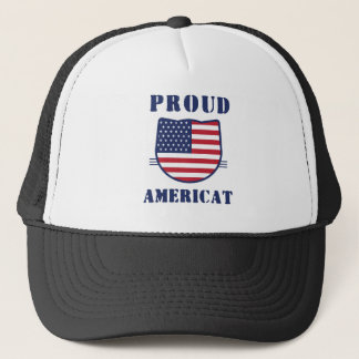 Proud Americat Trucker Hat