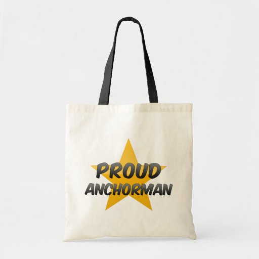 Proud Anchorman Canvas Bags