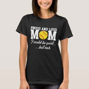 Softball Mom T-Shirt Tee For Softball Mom Pick Your Softball Mom Shirt and Color