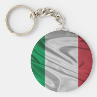 Proud and Patriotic Italian Flag Keychain