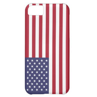 Proud and Patriotic USA Flag Case Case For iPhone 5C