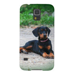 Case-Mate Barely There Samsung Galaxy S5 Case with Doberman Pinscher Phone Cases design