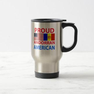 Proud Andorran American Mugs
