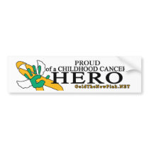 Proud Angel-Liver Cancer Bumper Sticker