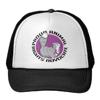 Proud Animal Rights Advocate Trucker Hat
