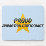 Proud Animation Cartoonist Mouse Pad
