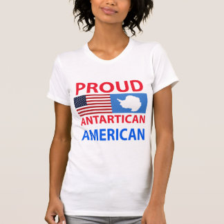 Proud Antartican American T Shirt
