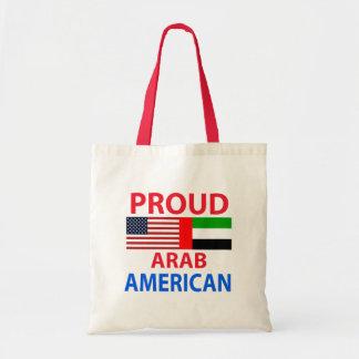 Proud arab American Budget Tote Bag