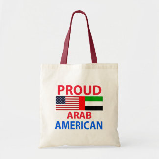 Proud arab American Canvas Bag