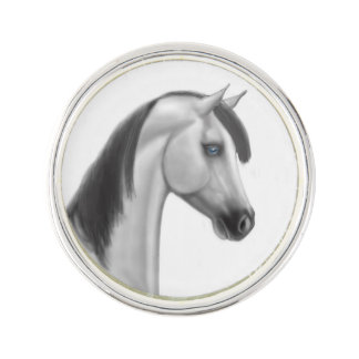 Proud Arabian Horse Lapel Pin
