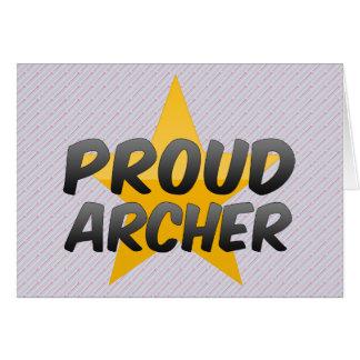 Proud Archer Card