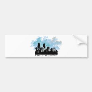 Proud Architect Original Design! Bumper Sticker