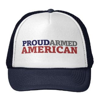 Proud Armed American Trucker Hat