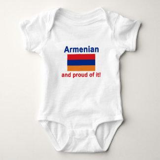 Proud Armenian Baby Bodysuit