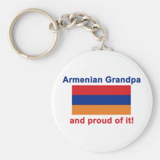 Proud Armenian Grandpa Keychain