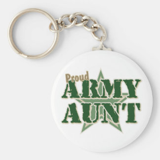 Proud Army Aunt Keychain
