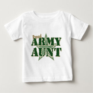 Proud Army Aunt Tee Shirts