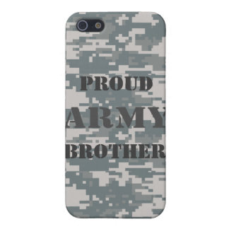 Proud Army Brother Camouflage Speck Case iPhone 5 Cover