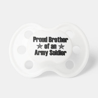 Proud Army Brother Pacifier