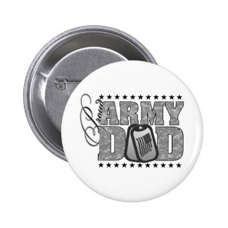 Proud Army Dad ACU Button