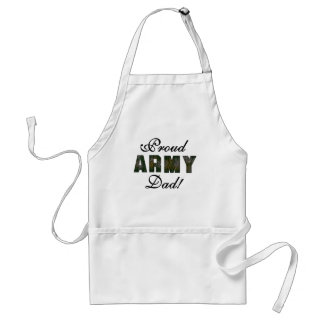 Proud Army Dad Adult Apron