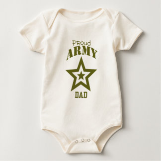 Proud Army Dad Baby Bodysuit