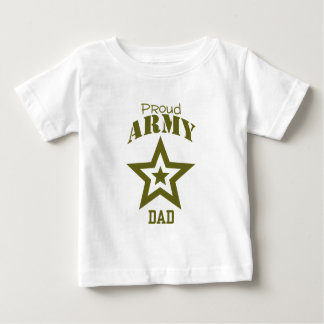 Proud Army Dad Baby T-Shirt