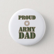 Proud Army Dad Button