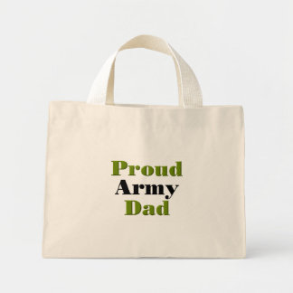 Proud Army Dad (green) Bags