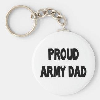 Proud Army Dad Keychains