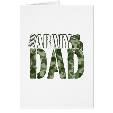 Proud Army Dad Military Pride Gift Card