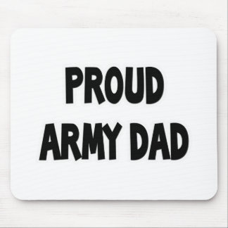 Proud Army Dad Mousepad