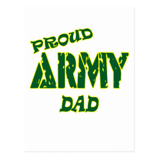 Proud Army Dad Postcard