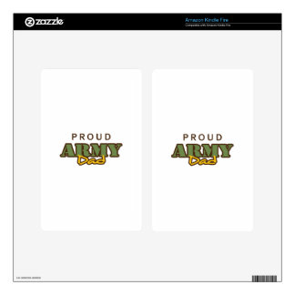 PROUD ARMY DAD KINDLE FIRE DECAL