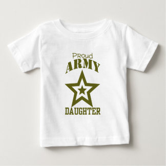Proud Army Daughter Baby T-Shirt