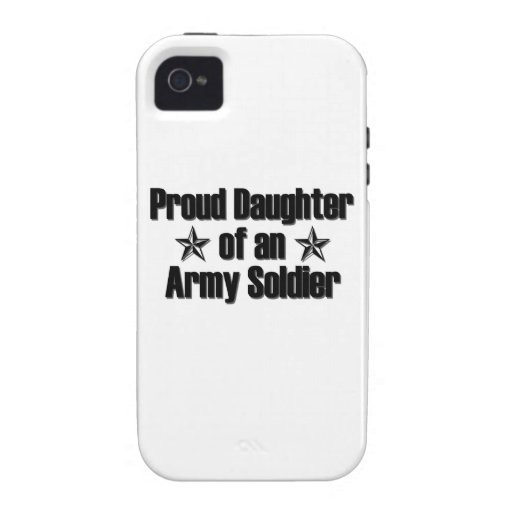 Proud Army Daughter iPhone 4 Cover
