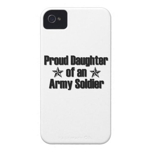 Proud Army Daughter iPhone 4 Case-Mate Case