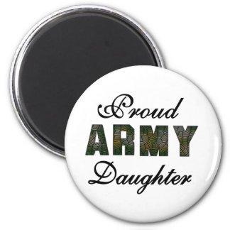 Proud Army Daughter Fridge Magnets