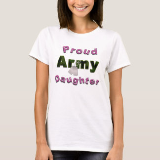 Proud Army Daughter Shirt