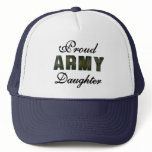 Proud Army Daughter Trucker Hat