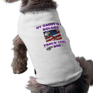 PROUD ARMY DOG DOGGIE T SHIRT